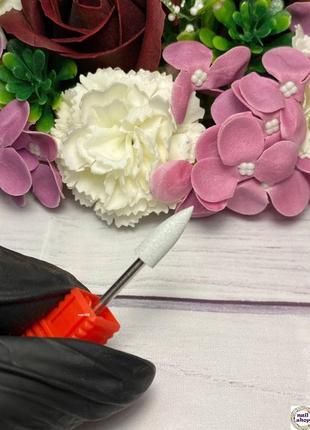 Фреза-шлифовщик силикон-карбидная конус маленький для полировки 120 грит