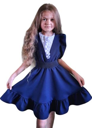 Школьный сарафан для модниц