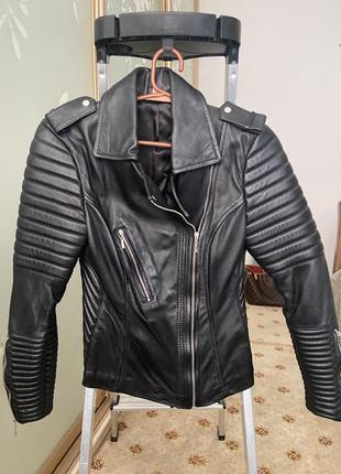 Куртка косуха 100% кожа италия 🇮🇹