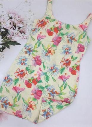 Льняное платье р.40/42 max mara оригинал!