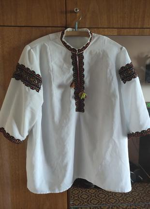 Сорочка вишита рубашка вышита короткий рукав