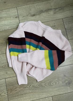 Женский укороченый свитер goldi