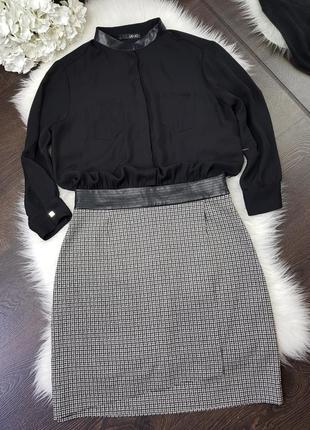 Платье с длинным рукавом liu -jo