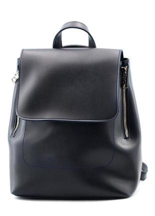 Сумка-рюкзак синій жіночий