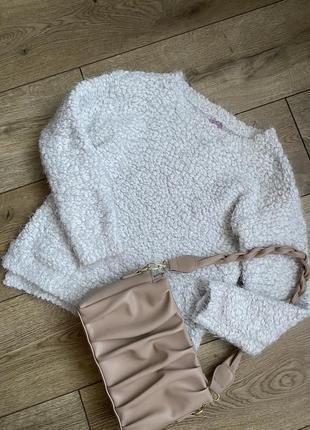 Женский укороченый свитер f&f
