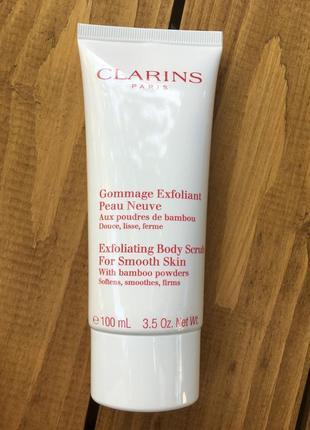 Скраб для тела clarins exfoliating body scrub 100 мл
