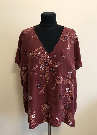 Блуза большого размера из купера