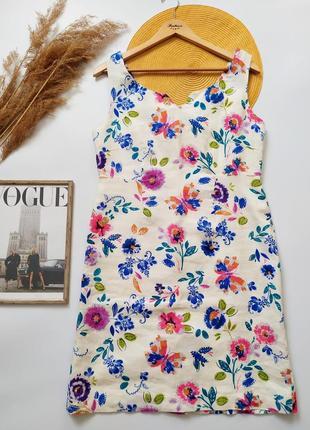 Шикарное натуральное платье лен 100%
