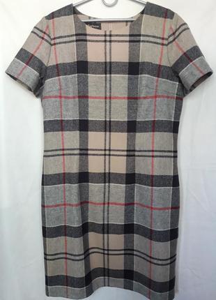 Платье шерстяное  barbour.