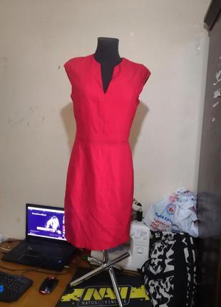 Платье красное по фигуре