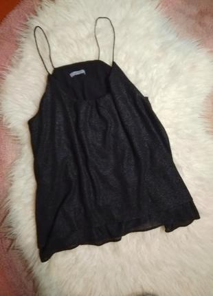 Блузка блузка топ на тонких бретельках h&m
