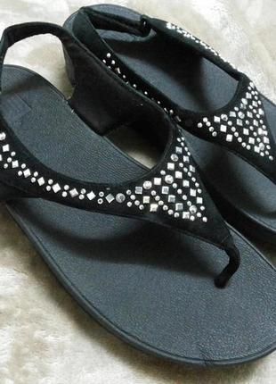 Босоножки,сандали замш фирменные жен.41-42р clarks fitflop вьетнам