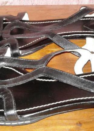 Кожаные босоножки clarks, 37р, uk5