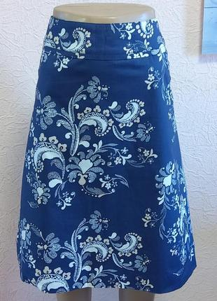 Красивая легкая юбка h&m 97 % хлопок акция 1+1 =3