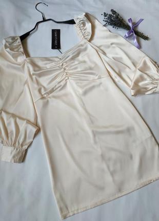 Нова  пудрова сукня
