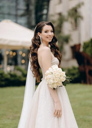 Весільна сукня pollardi gloss 3209