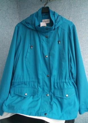 Отличная новая лёгкая курточка ветровка marks & spencer оригинал сток