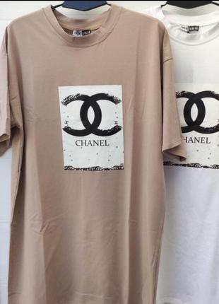 🔥стильное 🔥 платья футболка оверсайз хлопок турция