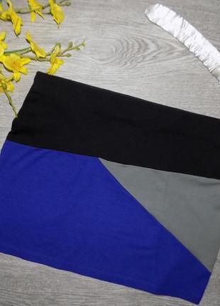 Трикотажная  юбка, сост. новое
