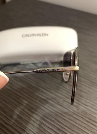 Очки авиаторы капельки от calvin klein6 фото