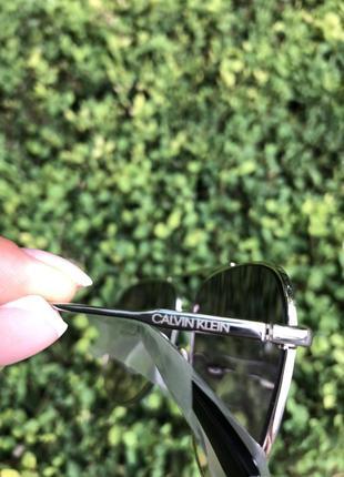 Очки авиаторы капельки от calvin klein9 фото