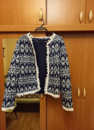 Продам лёгкий пиджак atmosphere (18) большой размер