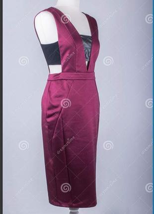 Платье силуэтное в обтяжку нарядное вечернее сарафан