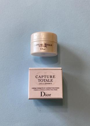Dior крем для коррекции морщин миниатюра