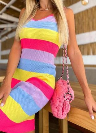 Новинкаа. платье сарафан по фигуре