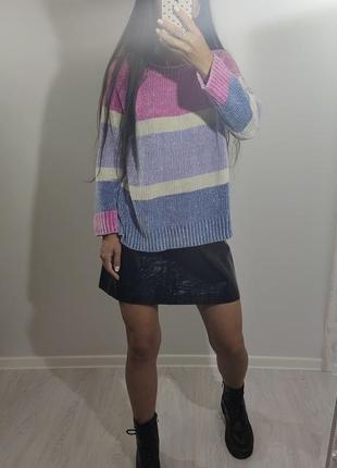 Велюровый бархатный мягкий свитер george