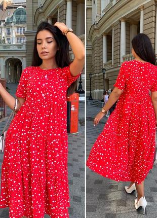Платье женское батал летнее легкое миди длинное ниже колена белое черное6 фото