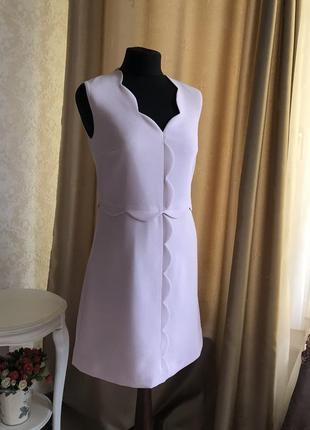 Красивенькое платье нежно лилового цвета пыльной розы от ted baker