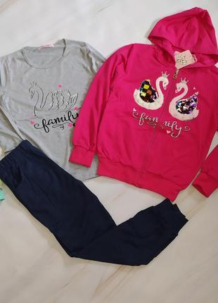 Спортивні костюми дівчаткам 4-12 років