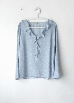 Легкая блуза из лиоцела