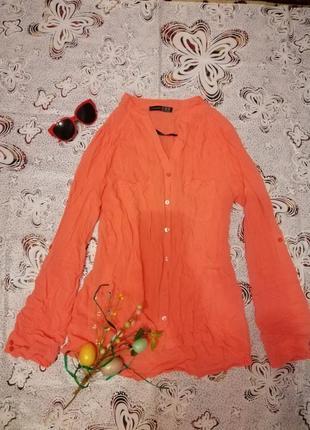 Стильная блуза рубашка блузка atmosphere