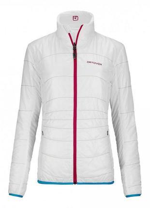 Женская двухсторонняя куртка ortovox women's swisswool piz  bial jacket