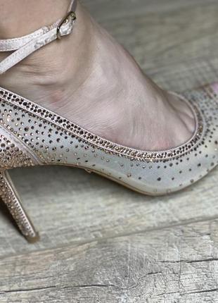 Туфли свадебные badgley mischka