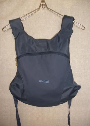 Городской непромокаемый рюкзак унисекс  nike с капюшоном