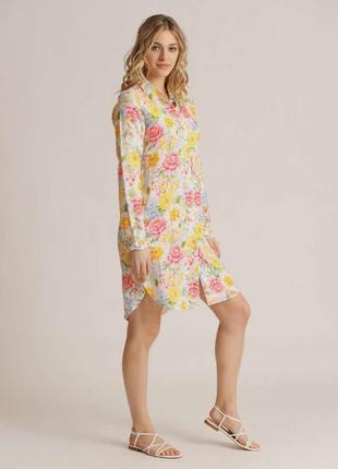 Льняное платье рубашка princess  goes hollywood  швейцарский люксовый бренд