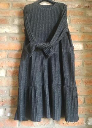Милое свободное платье jessica l