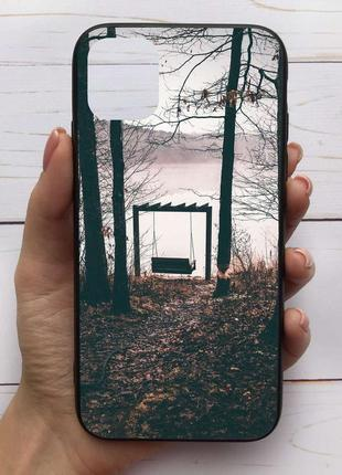 Чехол mood для iphone 11 pro max с рисунком качели