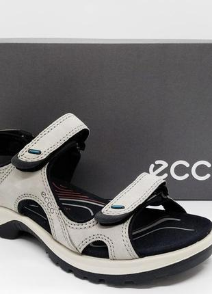 Суперские кожаные сандалии босоножки ecco  offroad оригинал