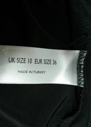 Блузка с кружевной спинкой черная вискоза7 фото
