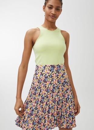 Юбка женская  arket pleated mini skirt