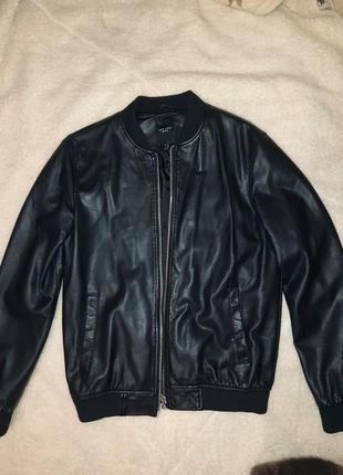 Кожаная куртка мужская, шкіряна куртка чоловіча