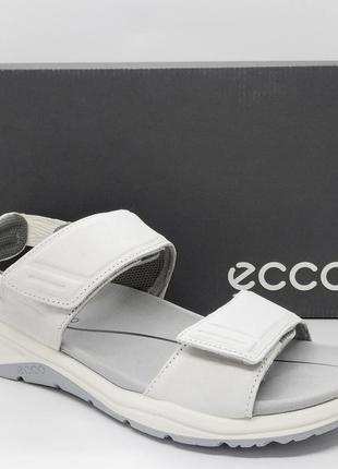 Кожаные удобные сандалии босоножки ecco x-trinsic оригинал