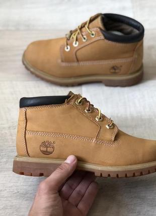 Timberland шкіряні демісезонні черевики ботінки оригінал