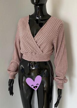 Блуза с длинным рукавом divided h&m