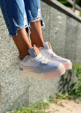 ◾ женские кроссовки puma cali sport mix
