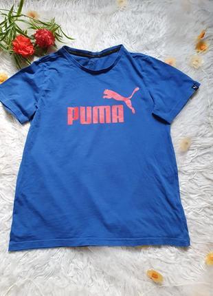 Классная футболка puma на 11-12 лет!